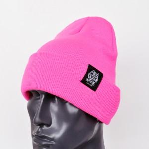 Шапка SAS Beanie Neon Pink