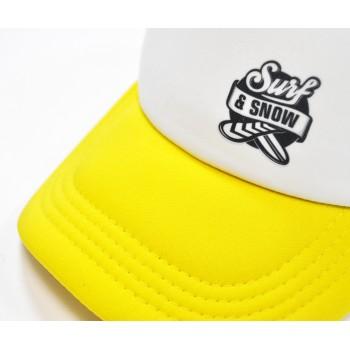 Кепка Surfandsnow Logo Trucker Cap SS16 Yellow