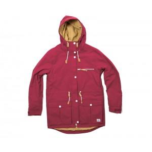 Куртка женская CLWR UP Parka Burgundy