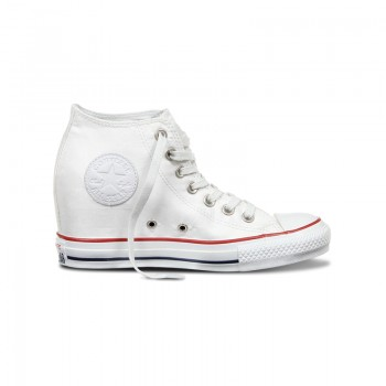 Кеды на танкетке Converse Chuck Taylor All Star Lux Bars & Stars