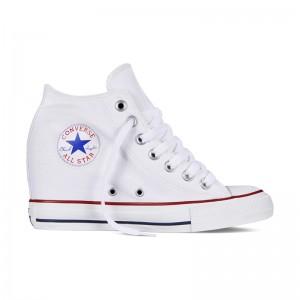 Кеды на танкетке Converse Chuck Taylor All Star Lux White