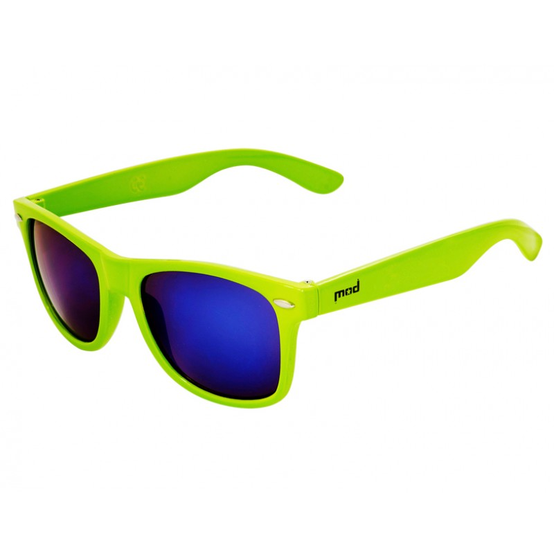 Очки MOD 2014 Funky lime/blue mirror