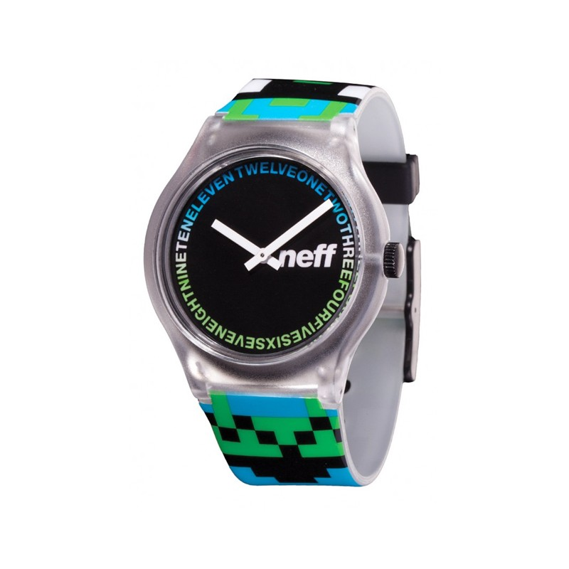 Часы Neff Clear Artisan Green