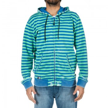 Толстовка Rip Curl Brash Stripe Hooded Zip Thru Classic Blue
