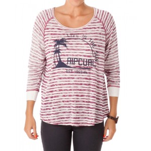 Футболка женская Rip Curl CALIFORNIA 3/4 SLEEVE TEE Boysenberry